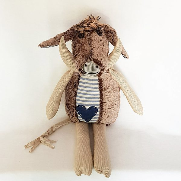 Handmade Soft Toy – Otis The Warthog