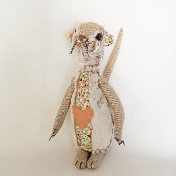 Handmade Soft Toy – Kierie The Meerkat