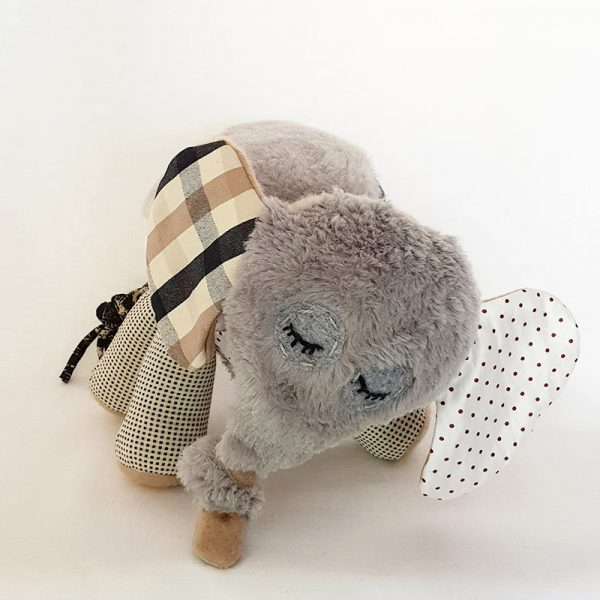 Handmade Soft Toy – Elli The Elephant