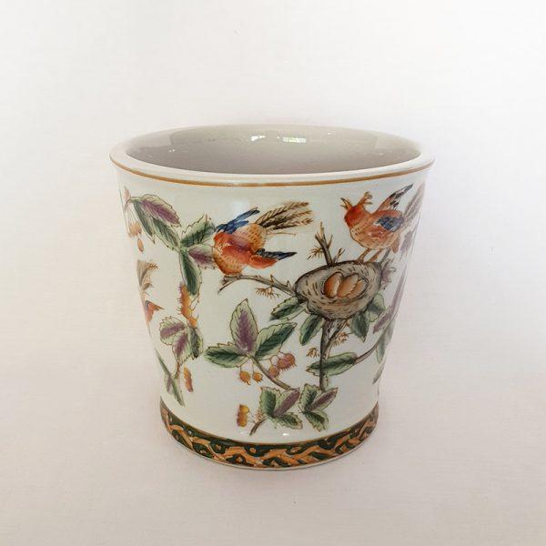 Painted Ceramic Pot Plant Vase