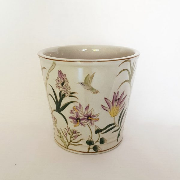 Painted Ceramic Pot Plant Vase
