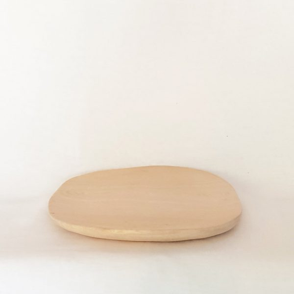 Asymmetrical Handcrafted Wooden Plate