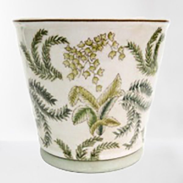 Hand Painted Porcelain Planter