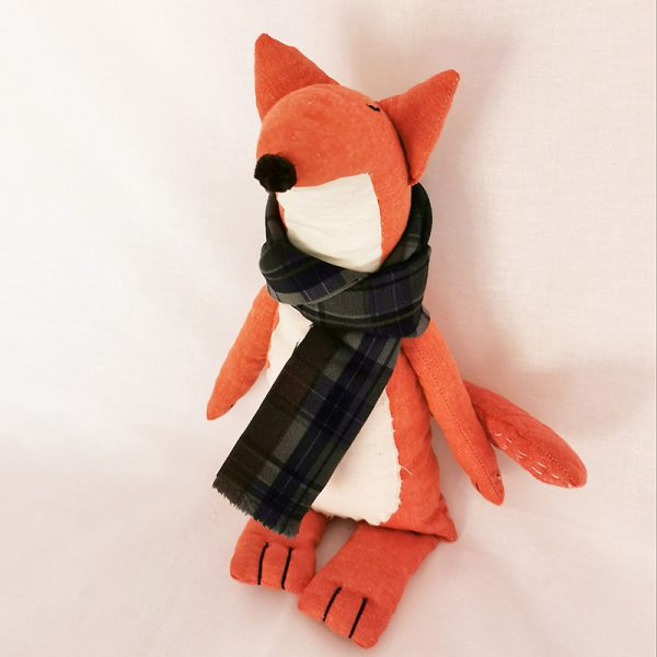 Handmade Soft Toy (Felix Fox)