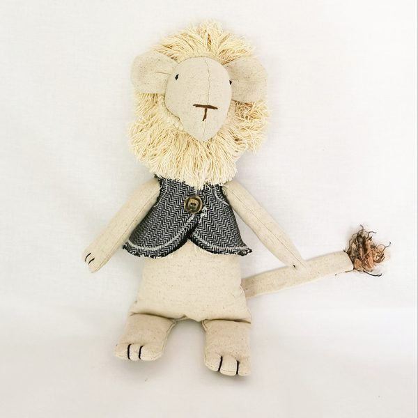 Handmade Soft Toy (Lewis The Lion)