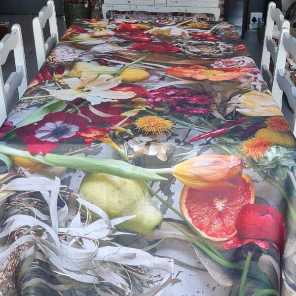 Couture Tablecloth – A Medley Of Happiness