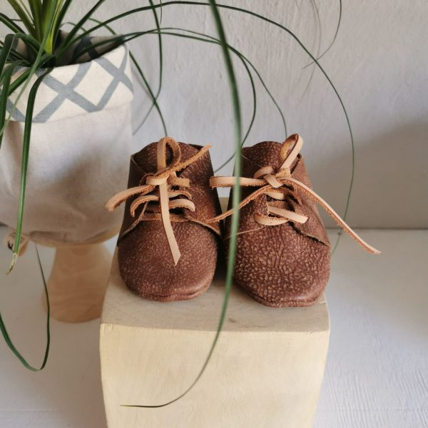 Leather Baby Vellies
