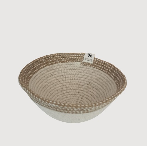 Rope Bowl – Cotton & Hemp Combo