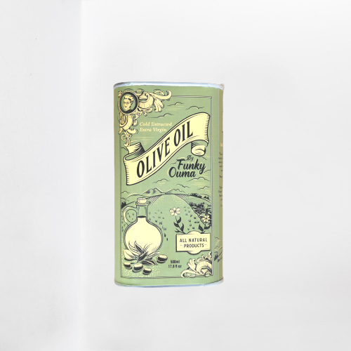 Funky Ouma Olive Oil In A Tin