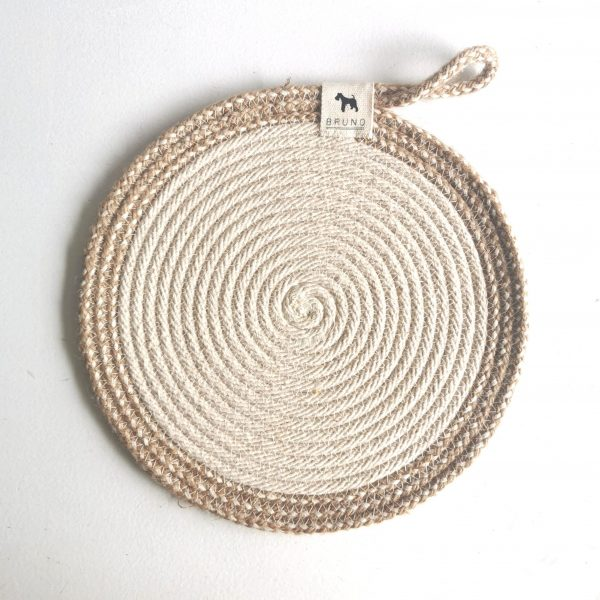 Rope Trivet Cotton & Hemp