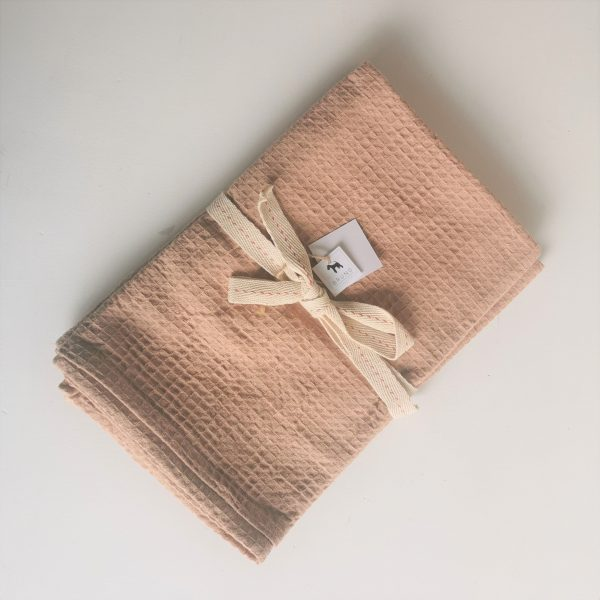 100% Cotton Waffle Weave Hand Towel Set