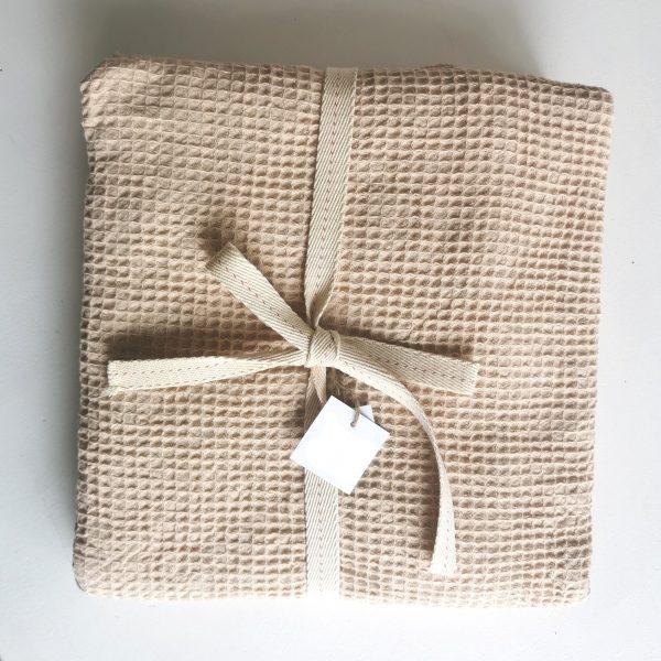 100% Cotton Waffle Weave Bath Sheet Set