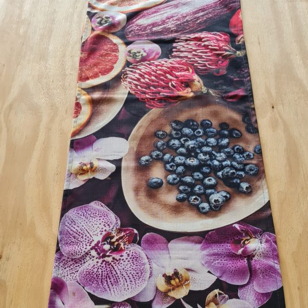 Couture Table Runner – Berries & Pins