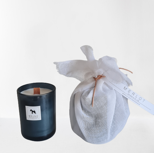 Hand Poured Soy Candle – Merlot